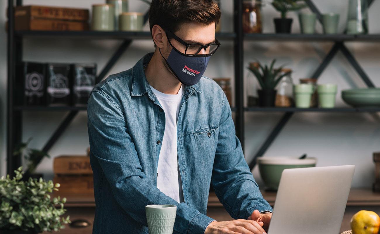 Denim - Spersonalizowane maski na twarz