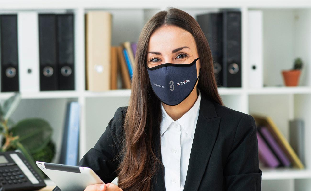 Denim - Maski na twarz z nadrukiem