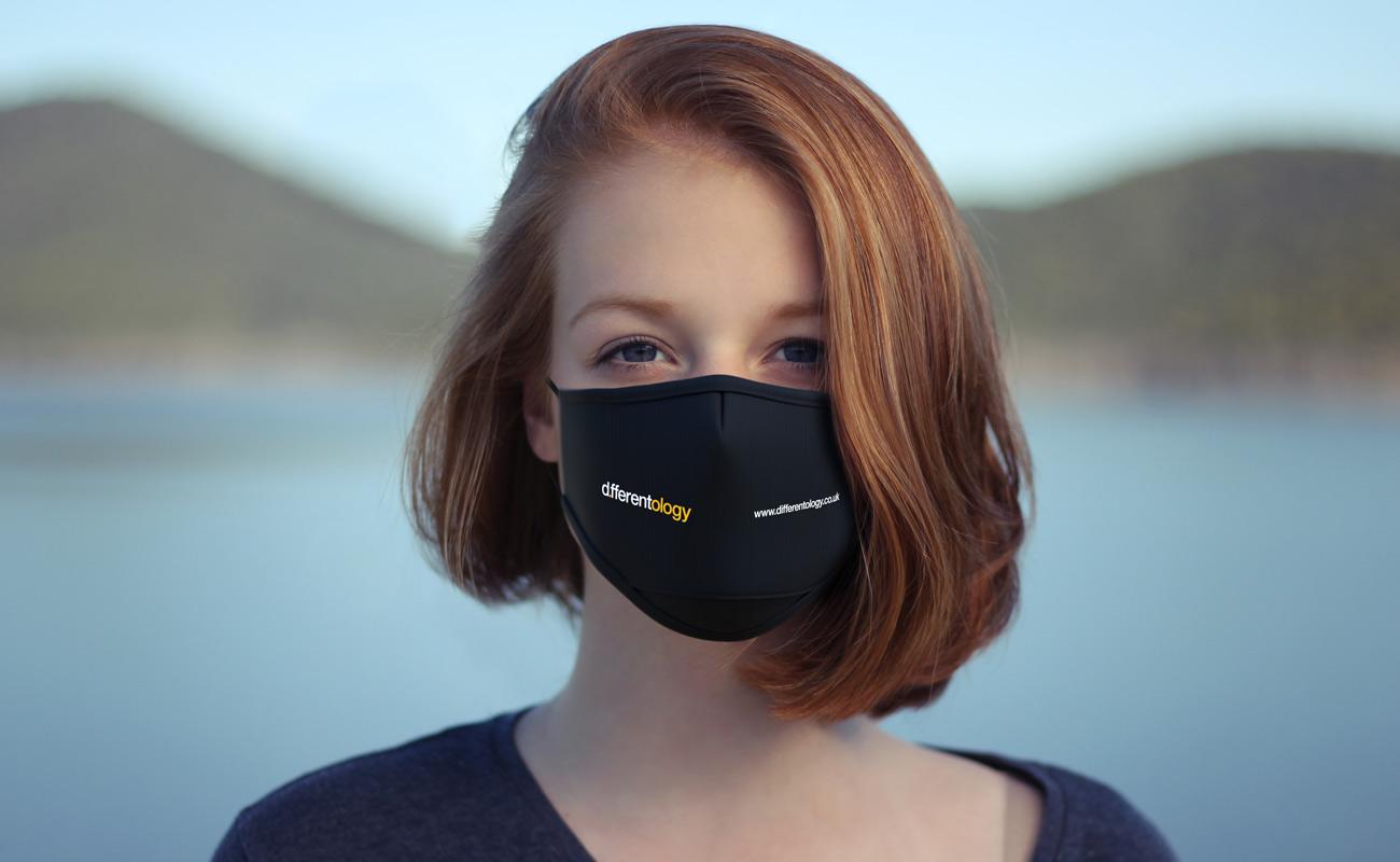 Junior - Spersonalizowane maski na twarz do wielokrotnego użytku