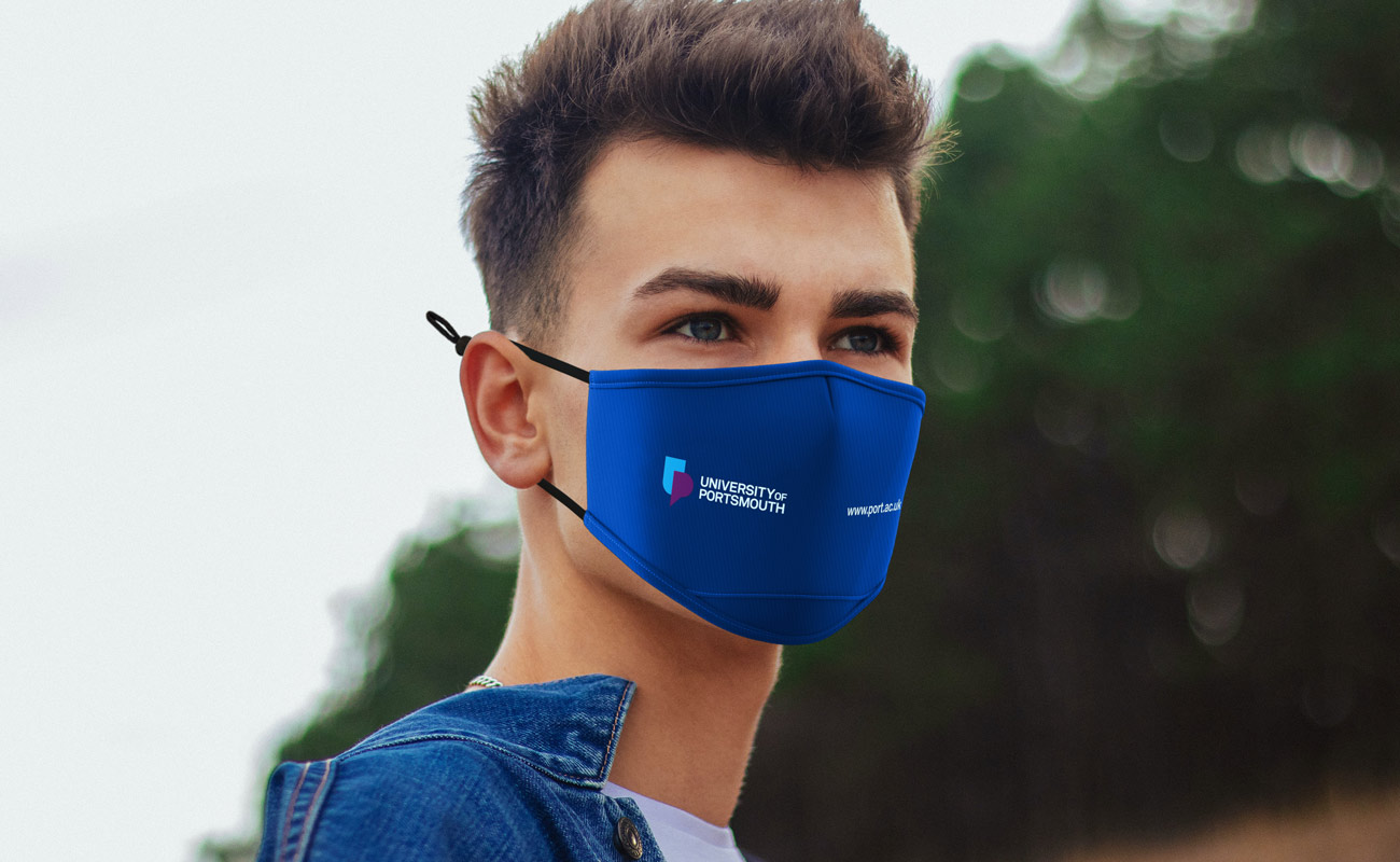 Junior - Maski na twarz z nadrukiem