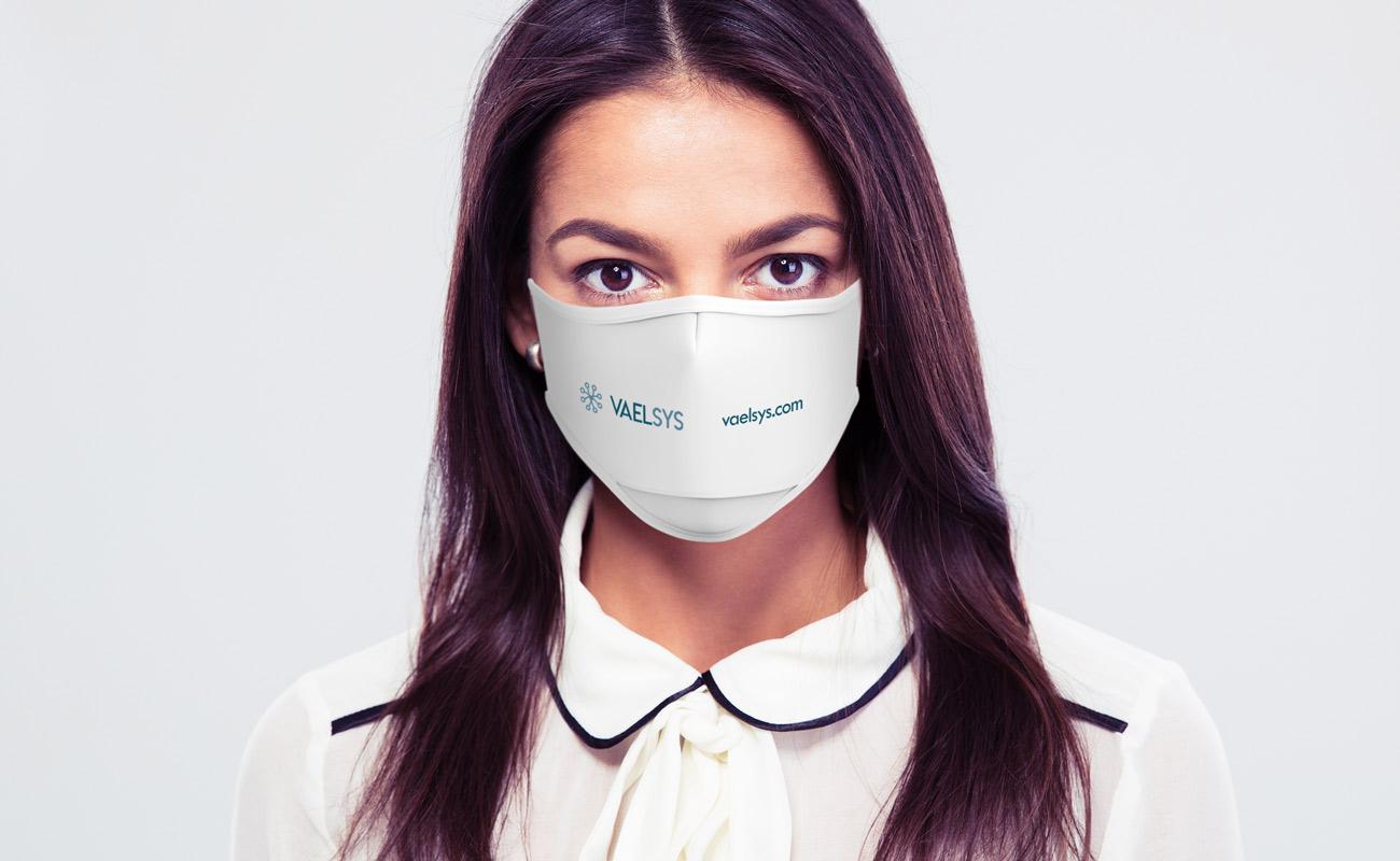 Sky Xtra - Znakowane maski ochronne na twarz