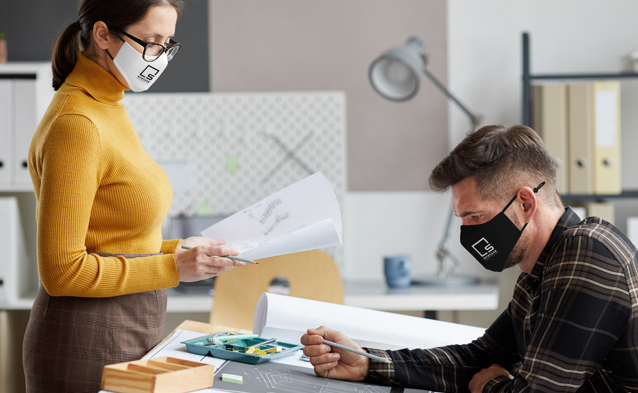 Sky Xtra - Spersonalizowane maski na twarz do wielokrotnego użytku