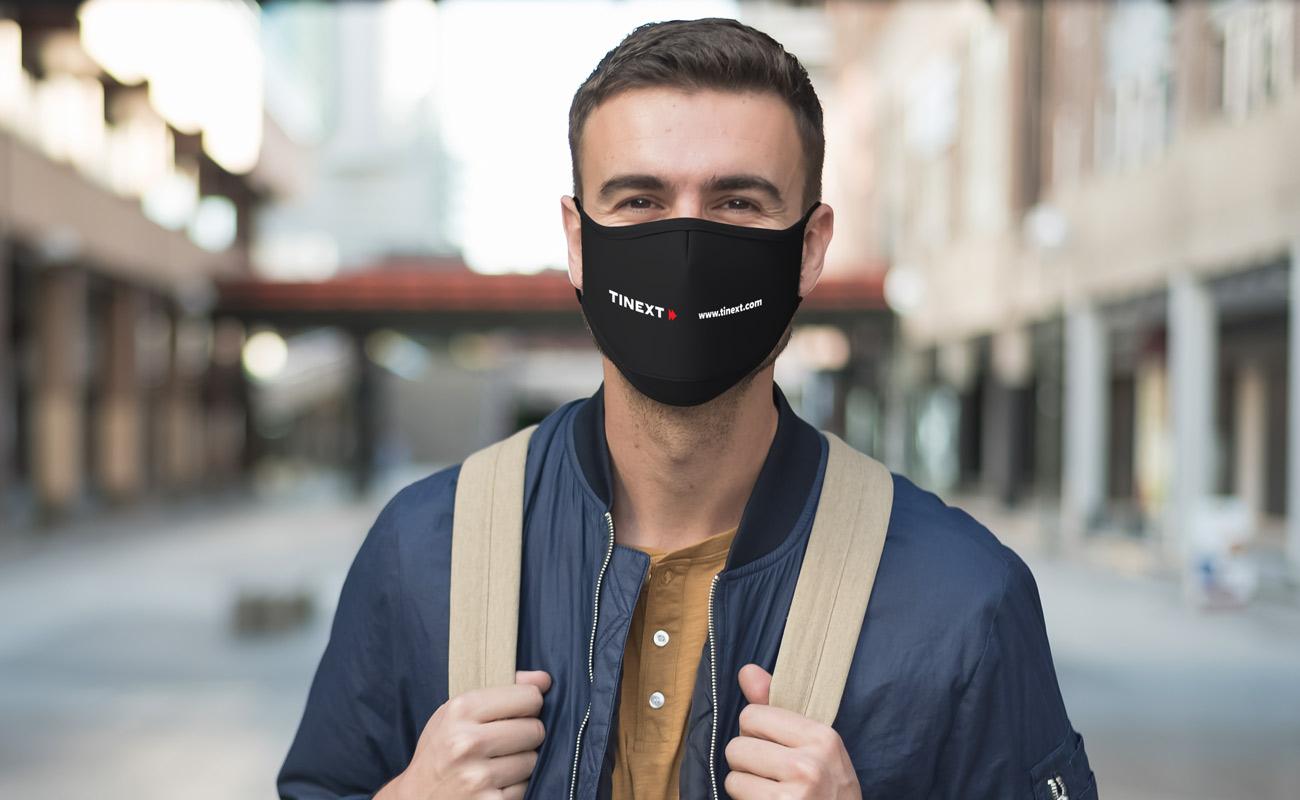 Sky Xtra - Maski na twarz z nadrukiem