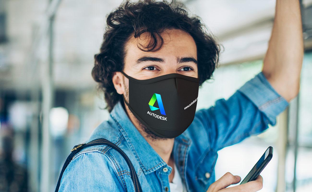 Sky iON - Spersonalizowane maski na twarz do wielokrotnego użytku
