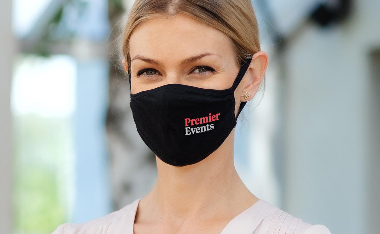 Ultra - Znakowane maski na twarz do wielokrotnego użytku